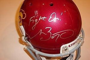 Matt Barkley Signed USC Trojans Full Size Replica Helmet w COA Heisman Trophy -... by Sports+Memorabilia