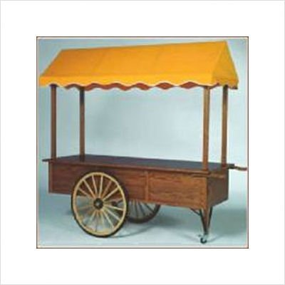 Wood Cabinet Cart Length: 5', Option: 3rd Wheel Package