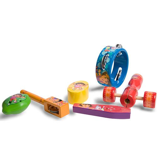 Dora the Explorer 6 piece Music Instrument Pack