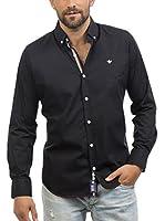 Signore Dei Mari Camisa Hombre Daniel (Negro)