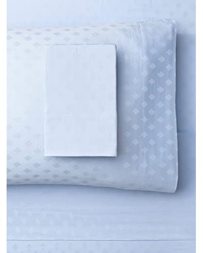 Westport Linens Diamond Jacquard Sheet Set