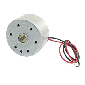 1700-7300RPM 1.5-6.5V High Torque Cylinder Electric Mini DC Motor by Amico