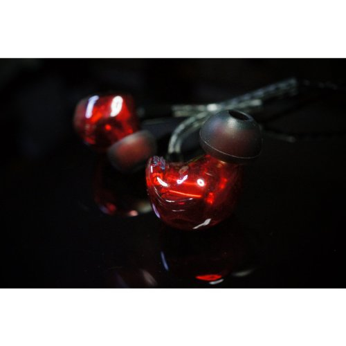 Heir Audio 8.Ai Red In Ear Monitor Earphone Hand Crafted (Detachable Cable)