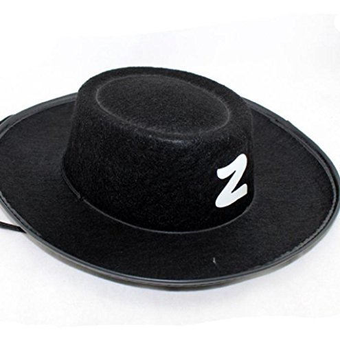 [Halloween Hat Mallcat Halloween Carnival Hat (Adults Hat)] (Adult Colonial Tricorn Hat)