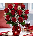 One Dozen Red Roses - Flowers