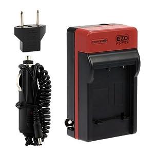 EZOPower EN-EL19 ENEL19 Chargeur Appareil Photo Numerique Batterie avec adaptateur allume-cigare compatible avec Nikon Coolpix S2500, S3100, S4100, S4150