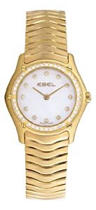 Ebel Women's 8256F24/9925 Classic Mother-Of-Pearl Dial Diamond Watch