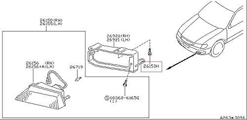 Infiniti Genuine Body Front Bumper Fastener 01553-00291 Q45 M45 M30 J30 I30 30/I35 (Infiniti M45 Front Bumper compare prices)