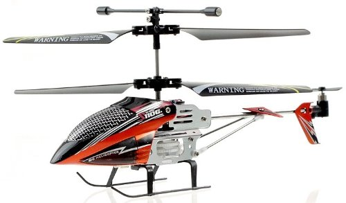 Syma S110G Infrared 3.5 CH Micro RC Helicopter RTF w/ Gyro orange and red