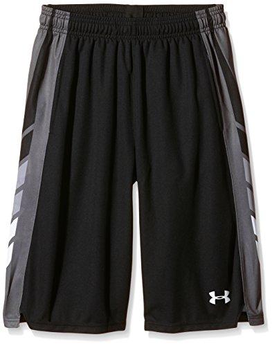 Under Armour UA Select pantaloncini Basket ragazzo, Ragazzo, Basketball UA Select Shorts, nero, S