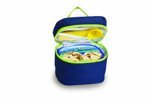 Picnic Plus Ice Cream Carrier Navy 7.5 X 5.5 X 6 - Picnic Plus Psm-726N front-627112
