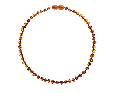 Baltic Wonder Unisex Amber Teething Necklace For Babies by Baltic Wonder