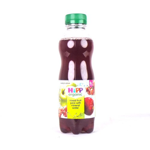 Hipp 4 Month Organic Mixed Fruit Juice With Mineral Water 500g