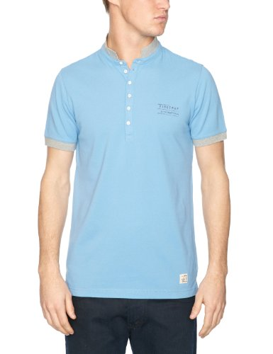 Firetrap Ecking Logo Men's T-Shirt Pool Blue X-Large