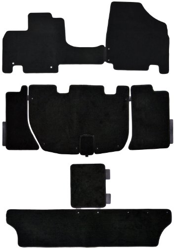 Complete Custom Exact Fit Carpet Mat Sets Front Middle Rear Honda Odyssey 2011-2012 front-152494