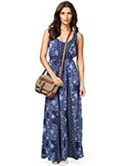 Indigo Collection Floral Maxi Dress