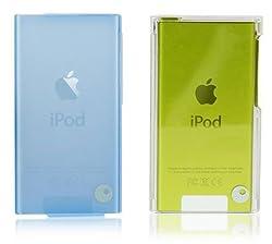 Kingcom (IT120 BL) Soft Skin Combo Cover for iPod Nano 7G (Blue)