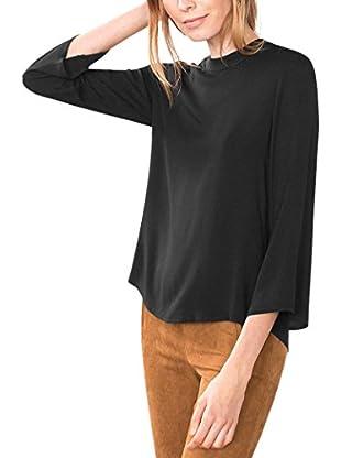 ESPRIT Blusa (Negro)