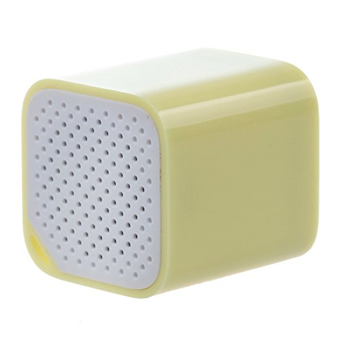 Mini Magical And Portable Multifunction Wireless Bluetooth Speaker Great For Listening Music, Taking Photos, Bluetooth Chat, Mobile Anti-Losit (Light Yellow)