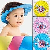 Baby Shower Cap, Shampoo Visor, Bath Visor PINK ~ Kangaroo