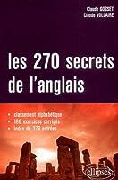 Les 270 secrets de l'anglais