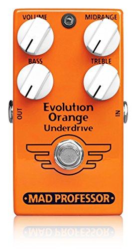 Mad Professor マッドプロフェッサー (NEW) オーバードライブ/ブースター/プリアンプ/EQ Evolution Orange Underdrive 【国内正規品】