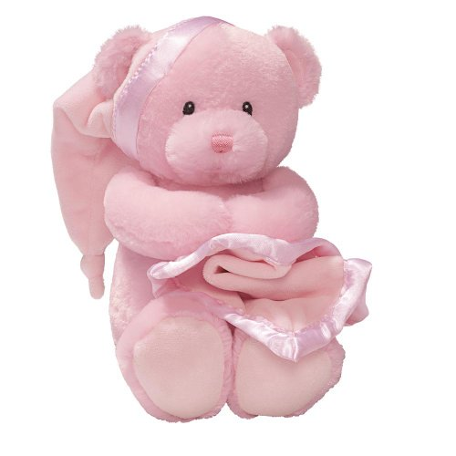 Gund Baby Nighty Night Musical Toy, Pink