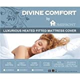 HOMEFRONT FULLY FITTED WASHABLE DOUBLE SIZE MATTRESS COVER DUAL CONTROL (193 x 137 cm)by HOMEFRONT - AWARDED...