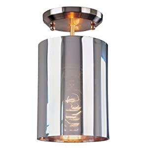 Z lite 160-6SF Kitano 1-Light Pendant in Brushed Nickel