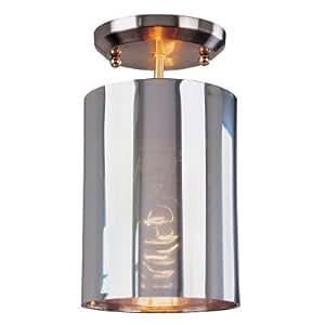 Z lite 160-6SF Kitano 1-Light Pendant in Brushed Nickel