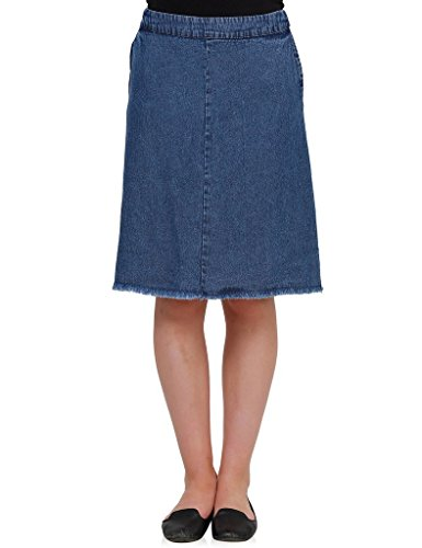 Oxolloxo Women A line denim skirt