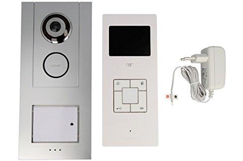 video t rsprechanlage kabelgebunden komplett set m e. Black Bedroom Furniture Sets. Home Design Ideas