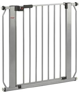 Reer KAH85 Lisa - Barrera de seguridad con puerta metálica (ancho 73-85 cm) marca Euret en BebeHogar.com