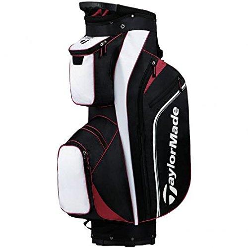 Taylormade Pro Cart 4.0 - Borsa Da Golf Per Uomo, Colore Nero/Rosso/Bianco, Taglia Unica