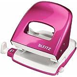Leitz 50081023 Bürolocher NeXXt, Metall, 30 Blatt, pink metallic