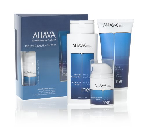 AHAVA Mineral Collection For Men Kit