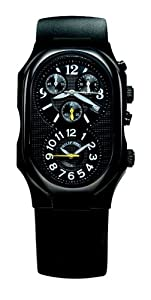 Philip Stein Men's 3B-NBY-RB Signature Black Rubber Strap Watch