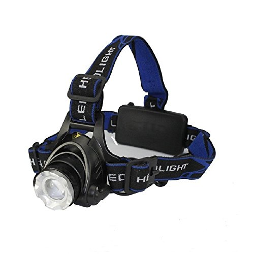 Amerzam LED Headlamp,Waterproof & lightweight Camping outdoor sports Headligh with usb Cable
