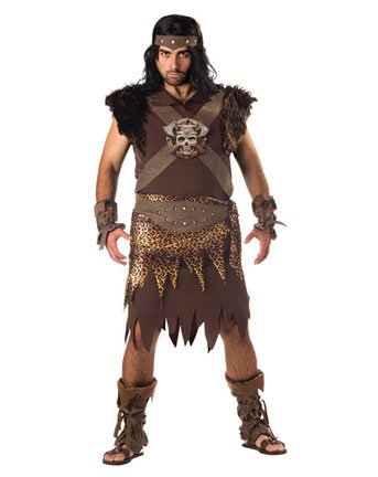 In Character Costumes Men's Barbarian Man Adult Costume