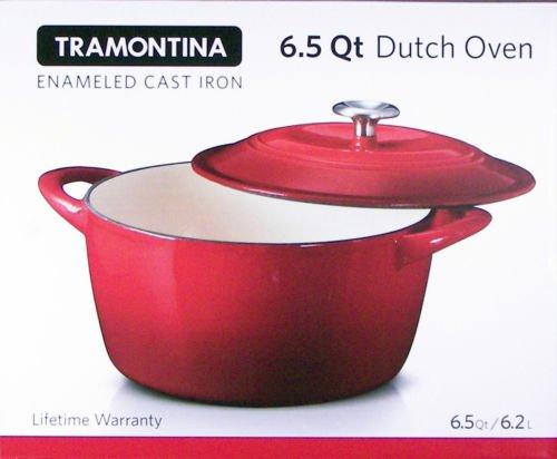 6 5 Quart Dutch Oven Tramontina Enameled Cast Iron Dutch