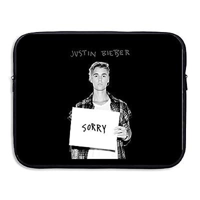 Justin Bieber Sorry Resistant Waterproof Notebook Zipper Bag Case 13-15 Inch