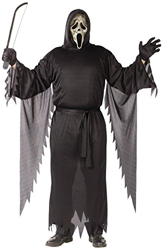 Funworld Mens Scream Zombie Ghost Face Theme Party Fancy Halloween Costume
