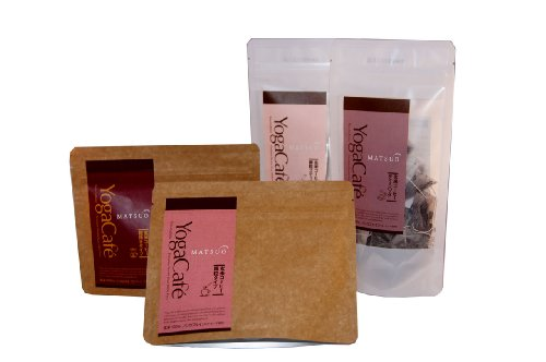 Yoga Café Brand, Genmai Premium Gift Set A - The Basic 4 Items Of Gluten Free Coffee Alternative For The Couple