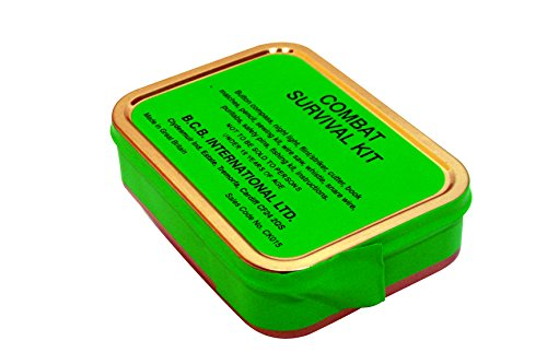 Bushcraft BCB Combat Survival Tin - Verde
