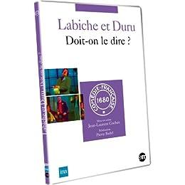 Doit-On Le Dire ? Labiche Et Duru - Dvd
