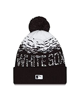 MLB Chicago White Sox Headwear, Black/White, One Size