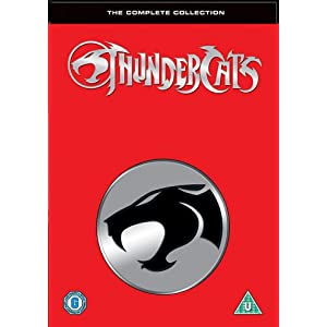 Thundercats Complete  on Dvd Original Importado De Inglaterra Thundercats Complete Seasons
