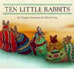 img - for [ Ten Little Rabbits Board Book ] BY Grossman, Virginia ( Author ) ON Jul-01-1998 Hardcover book / textbook / text book