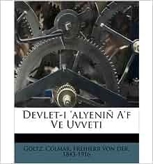 Colmar Freiherr Von Der 1843 Goltz: 0880749859844: Amazon.com: Books