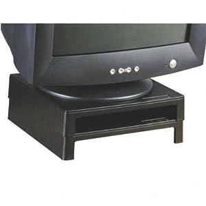 "VuRyte 4855 2""Monitor Stand, Graphite Black"